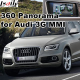 Поверхность стыка вид сзади & 360 панорам для экрана бросания сигнала ввода системы Lvds RGB Mmi Audi 3G