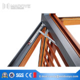 La finestra di alluminio della stoffa per tendine del commercio all'ingrosso della fabbrica della Cina con il doppio ha lustrato