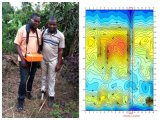 2017newest Anti-interferencia fuerte detector de aguas profundas con un mapeo de clave