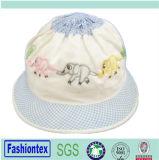Bebés de moda Baby Solid to Print Reversible Sun Bonnet