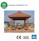 Деревянный пластичный составной напольный павильон WPC