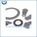 304/316 de engranzamento de fio do aço inoxidável para a fibra de grampo