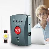 2016無線 GSM Sosの非常ボタン007が付いている年配の個人的な緊急の警報システム例えば。