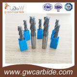 Торцевая фреза карбида вольфрама HRC45-68 с Altin  Tiain Tisin Покрытие Naco