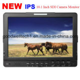 IPS Panel 10.1 Inch Video Monitor para transmissão profissional