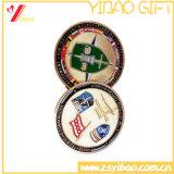 Двойник чеканит подарок сувенира логоса Customed меди плакировкой (YB-HD-139)