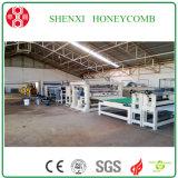 Nuevo tipo económico cadena de producción de la base de panal del papel