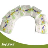 Tecidos descartáveis do bebê com película do PE e fita de Velcro