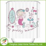 최신 디자인 폴리에스테 샤워 커튼 도매 목욕탕 커튼