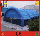 Blaue aufblasbare Ereignis-Zelt-aufblasbare Zelt-Abdeckung-aufblasbares Zelt für im Freien