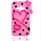 3D Animal Silicon Rubber Cell Phone Case para iPhone