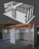Insel-Ausstellung-Stand-Entwurf