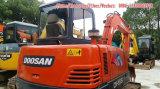 使用された小型掘削機、販売のための5t小さいDoosanの掘削機