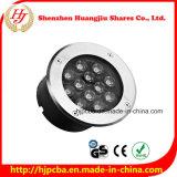 Indicatore luminoso esterno sotterraneo del LED per il giardino/plaza/cortile/il prato inglese 3W 5W 7W 9W 12W 24W 36W