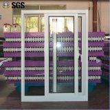 Puder-überzogenes schiebendes Fenster-schiebendes Aluminiumaluminiumfenster K01077