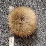 Beanie вязания крючком зимы связанный шлемом с Pompom шерсти