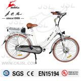 Multicolor повелительница Город E-Велосипед конструкции 250W алюминиевого сплава 700c (JSL036E-4)