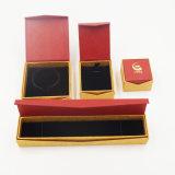 Caixa ajustada de empacotamento do bracelete durável do pendente do anel do papel de embalagem (J28-E)