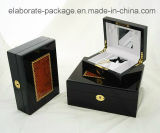 Casella standard di legno di Jewellry di garanzia d'avanguardia di Quanlity di arte