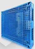 двойника решетки нагрузки шкафа полки паллета 1200*1200*150mm поднос пластичного сверхмощного пластичный с сталью 8 для хранения полки пакгауза (ZG-1212)