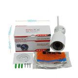 Sicherheit H. 265 4.0MP im Freien wasserdichte HD WiFi IP-Kamera