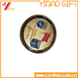 두 배는 화폐로 주조한다 도금 구리 Customed 로고 기념품 선물 (YB-HD-139)를