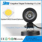 barra ligera de conducción diurna del trabajo del CREE LED de las lámparas de la niebla 10W