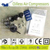 компрессор воздуха 9L 550W 2cylinder молчком Oilless портативный