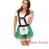 Oktoberfest Costume Hoffbrauのセクシーな女性
