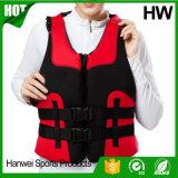 Chaleco de vida boyante del neopreno de la natación adulta durable caliente de las ventas (HW-LJ029)