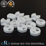 Pièce en céramique de disque de l'alumine Al2O3 thermique industrielle