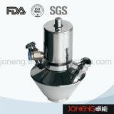 Válvula asséptica soldada da amostra do produto comestível de aço inoxidável (JN-SPV2008)