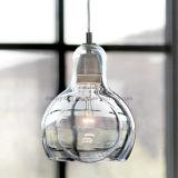 Стеклянный просто свет круглого шарика энергосберегающий для канделябра комнаты Dinning самомоднейшего
