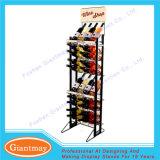 Супермаркет использовал свободно стоящие шкафы вина индикации провода металла для сбываний