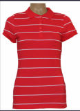 남자 또는 여자 형식 단단한 폴로 셔츠