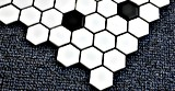 Heiße keramische Mosaik-Hexagon-Fliese