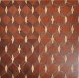 Le parquet de mosaïque a modelé le plancher en bois conçu
