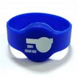 Bracelet promotionnel d'IDENTIFICATION RF du cadeau 125kHz de qualité