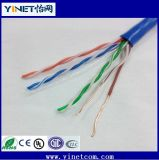 Erstklassige LSZH Cat5e Ethernet-Kabel-reine Kupfer UTP 24 AWG-Lehre