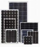 Poste montó el panel solar del sistema con eficacia alta
