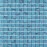 Mosaico de cristal azul Mosaico para la pared y el suelo