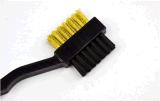 Il golf spazzola la spazzola laterale del randello di pulizia di trucco due ovali