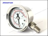 манометр 40mm нержавеющей заполненный Стал-Жидкостью