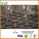 Fabrik-Großhandelsküche-Silikon-Teller-trocknende Matte
