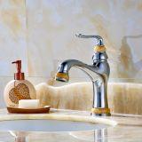 Badezimmer-Hahn-Messingjade-Farbanstrich-Hahn für Behälter-Wanne