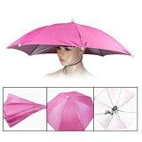 Ombrello della protezione dell'ombrello del cappello dell'ombrello della testa dello schermo di Sun di pesca