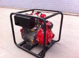 Venta caliente basura de 4 pulgadas/bomba de agua sucia conducida por el motor diesel 16HP