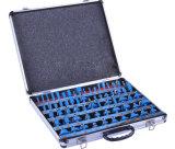 """1/4 """" herramienta determinada del cortador del metal del dígito binario del ranurador de la asta 35PCS"""