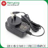 La marca di Merryking Parete-Monta l'adattatore di potere della spina AC/DC dell'Au dell'adattatore di 12V 1A
