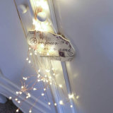 Regalo perfecto de Navidad luz flexible pequeña LED decorativo de alambre de cobre Multi rama de cuerda